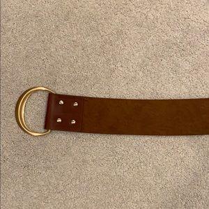 Brown Statement Belt
